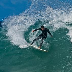 Cutback by Gavin Falck - Sports & Fitness Surfing ( ocean., surfing, waves, sport, beach )