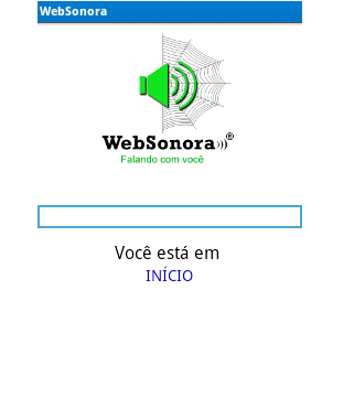 WebSonora- screenshot