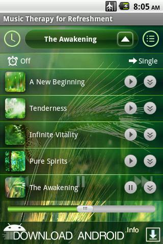 Music Therapy for Refreshment - screenshot