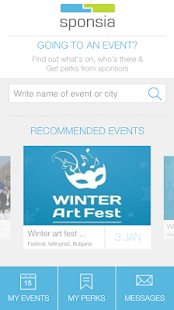 Sponsia: Event Experience- screenshot thumbnail