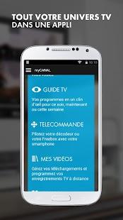 myCANAL, par CANAL+ & CANALSAT- screenshot thumbnail