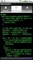Screenshot of IEdit Text Editor
