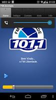 Screenshot of FM Liberdade