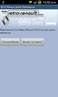 Retro-Renault ECU Pinouts - screenshot thumbnail