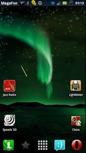 Aurora Borealis LWP Free - screenshot thumbnail