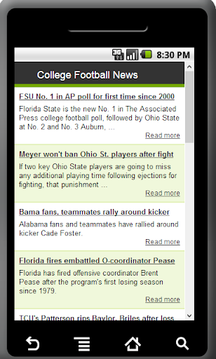 College Football News