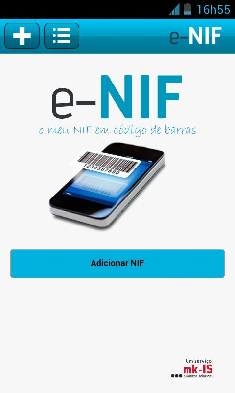 e-NIF- screenshot