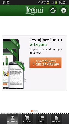 Legimi - ebooki bez limitów