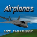 Airplanes Live Wallpaper Lite icon