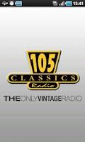 Screenshot of Radio 105 Classics