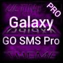 Purple Galaxy GO SMS Pro logo