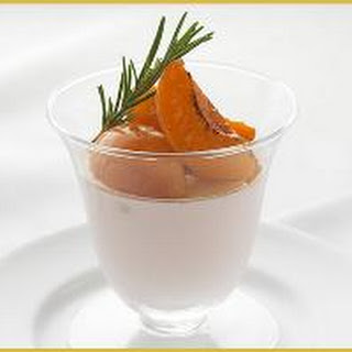 PANNA COTTA ROASTED APRICOTS