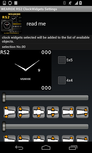 SmartWatch 2 widget RS2 watch