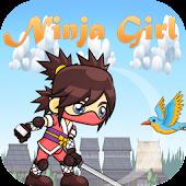 Jumping ninja games GIRL NINJA