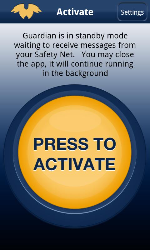 Guardian Safety Net- screenshot