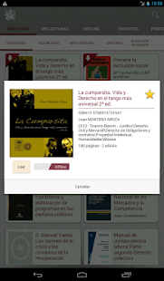 Biblioteca Virtual Tirant- screenshot thumbnail