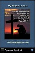 Screenshot of Prayer Journal