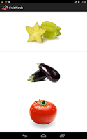Screenshot of Fruit Words