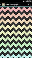Screenshot of Chevron Wallpapers