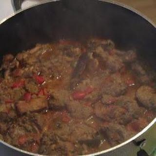 Authentic Caribbean Chicken Stew.