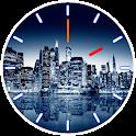 City Skyline Clock icon