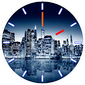 City Skyline Clock