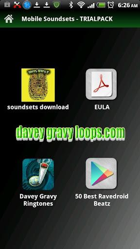 Mobile Soundsets-BB Trance