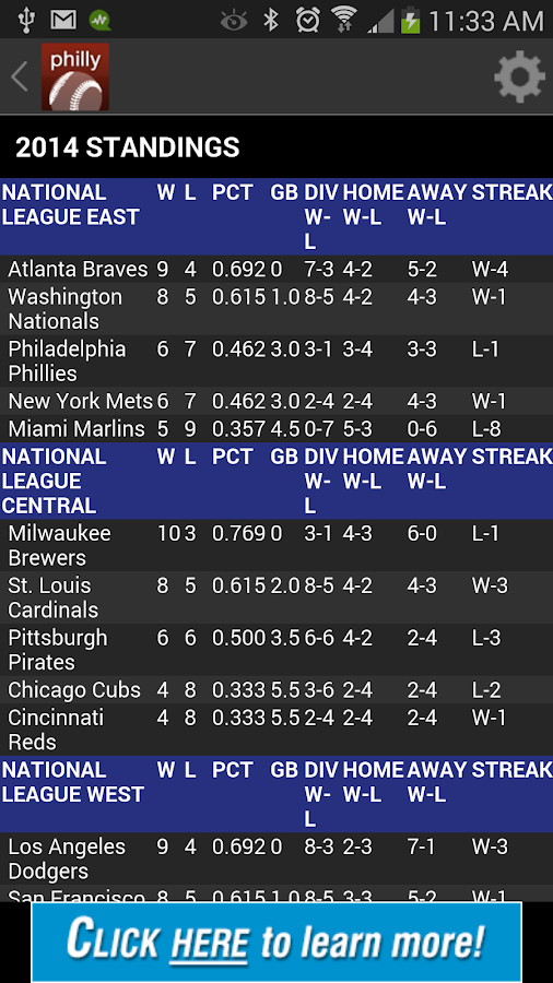 Philly Pro Baseball- screenshot
