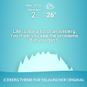 Iceberg Theme ssLauncher OR icon