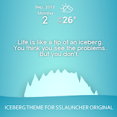 Iceberg Theme ssLauncher OR