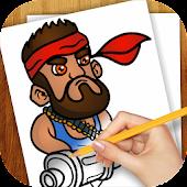 Learn To Draw Booom Beach