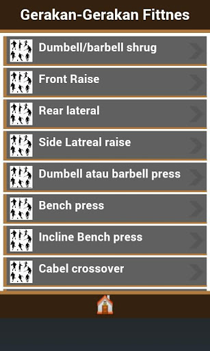 Jenis-Jenis Gerakan Fitnes