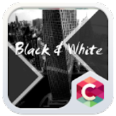 Black & White Theme C Launcher