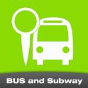 버스 와 지하철(실시간 버스,마을버스,서울지하철) icon