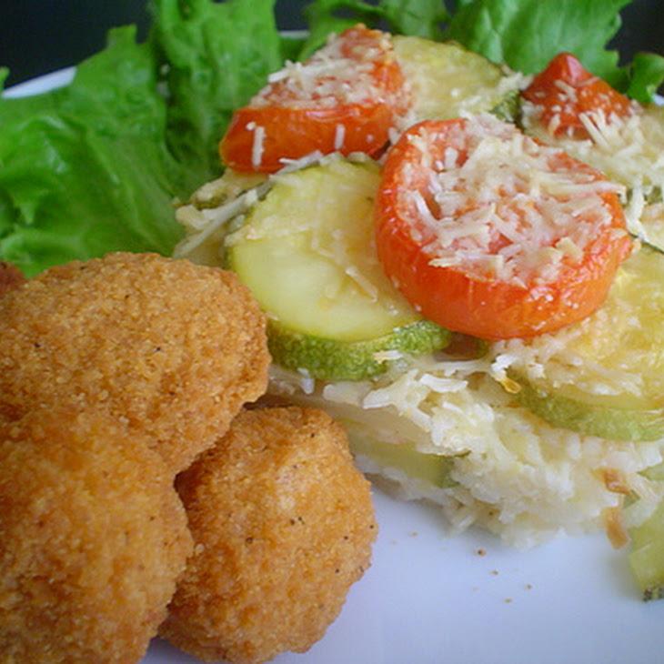 Zucchini and Rice Roast Recipe
