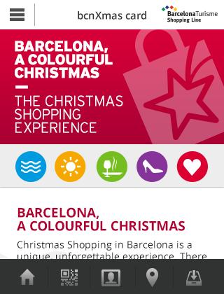 Barcelona Christmas Card