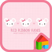 red ribbon hamster dodol theme
