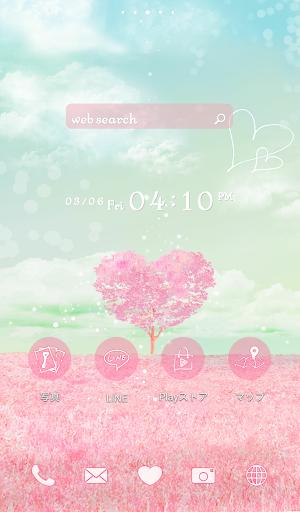 可愛換裝桌布★Pink Heart Tree
