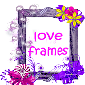 Natural photo frames