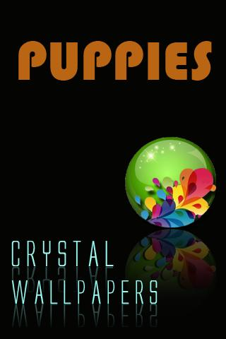 Crystal Puppies Wallpapers - screenshot