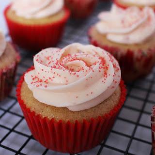 Sweet Strawberry Cupcakes