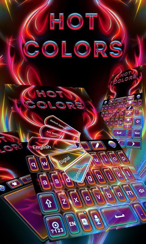 Hot-Colors-GO-Keyboard-Theme 6