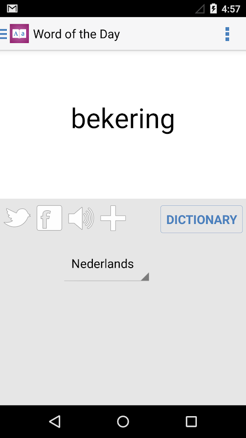 Dutch Dictionary - English Dutch Translator- screenshot