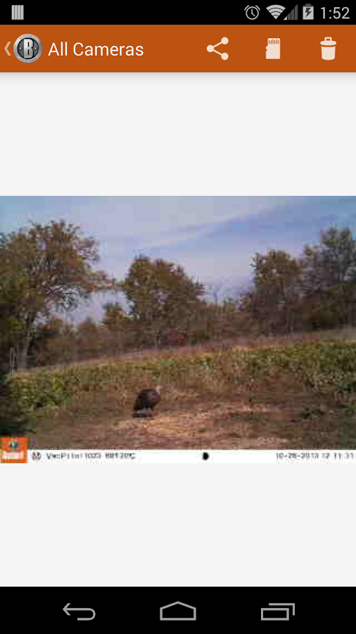 Bushnell Wireless Trophy Cam- screenshot