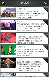 CoE Congress - screenshot thumbnail