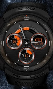 Sports watch_free MXHome theme - screenshot thumbnail