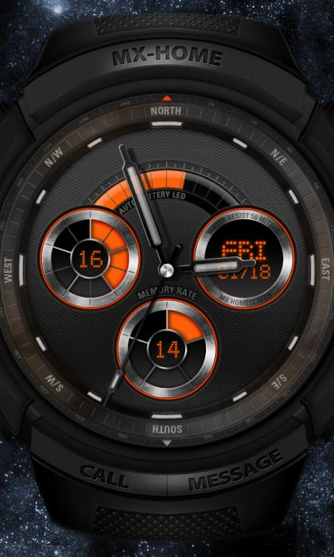 Sports watch_free MXHome theme- screenshot