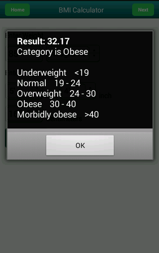 best app for body fat percentage android