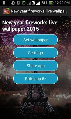 Fireworks live wallpaper 2016 - screenshot