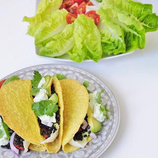 Beluga Black Lentil Tacos